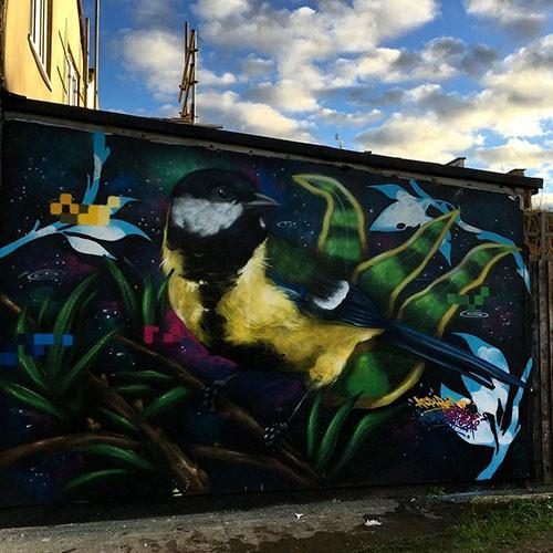 Aspire Upfest Street Art