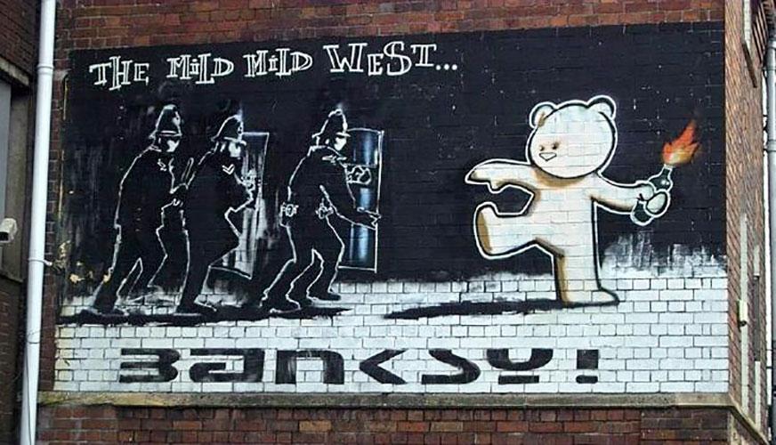 Bristol Street Art Banksy Visit Bristol
