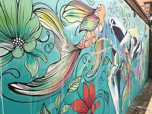Hannah Adamaszek Upfest Street Art