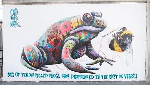Louis Masai Street Art Los Angeles