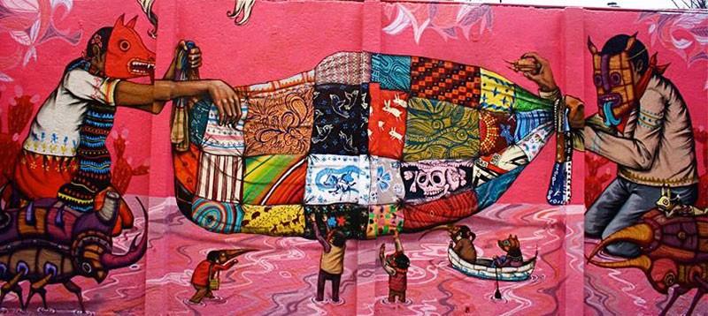 Coachella Walls Street Art