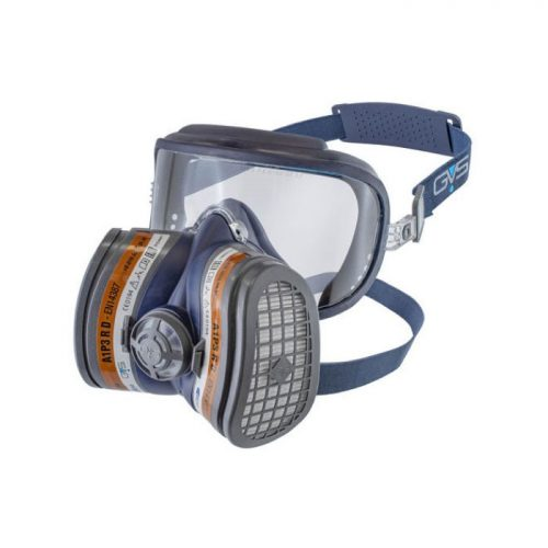 GVS Filter Tech. SPR401-444 Elipse Integra Safety Goggle + A1P3 Dust & organic Vapur Respirator, Filters Ready Fitted