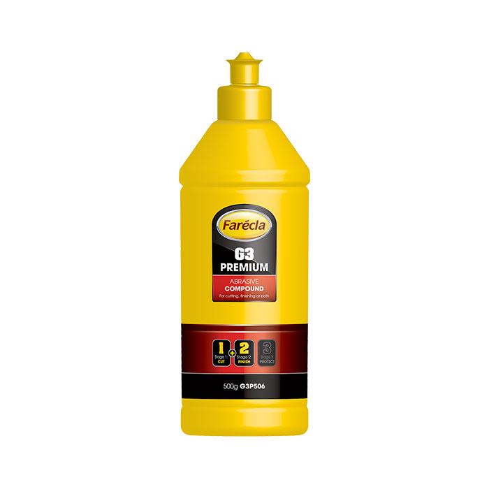 Farecla G3 PREMIUM Abrasive Compound 500G Bottle