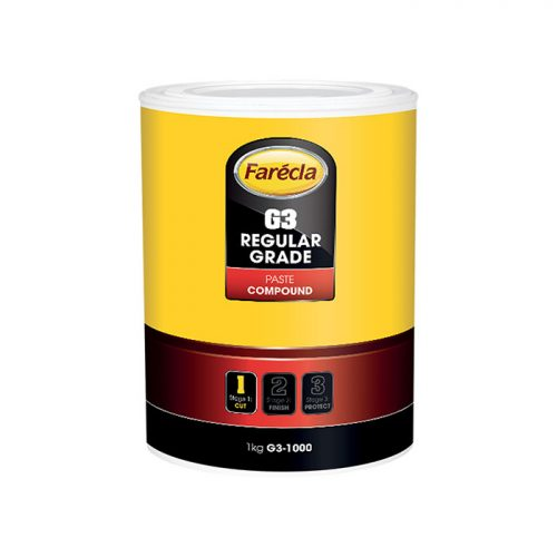 Farecla G3 Regular Grade Compound Paste 1KG TUB