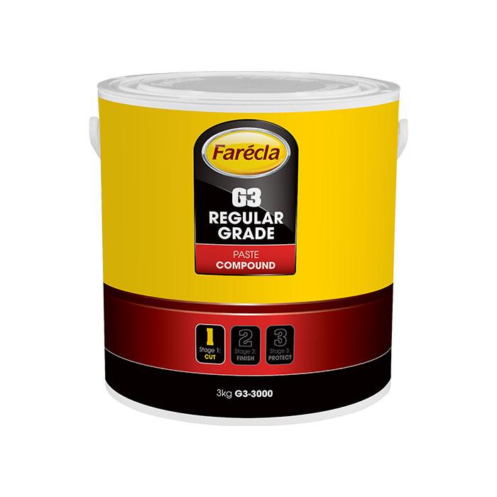 Farecla G3 Regular Grade Compund Paste 3KG Tub